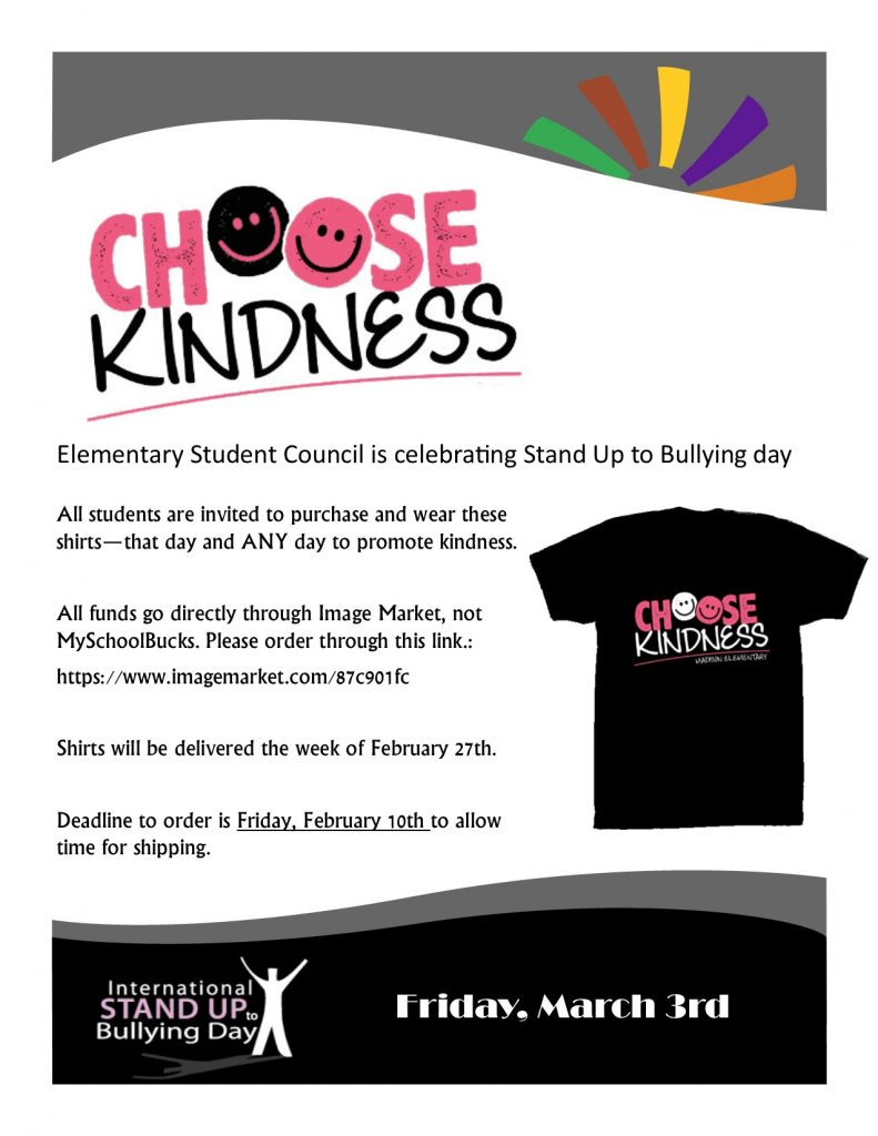 Choose Kindness Shirt Flyer