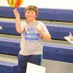 Richard Nelson spinning basketball
